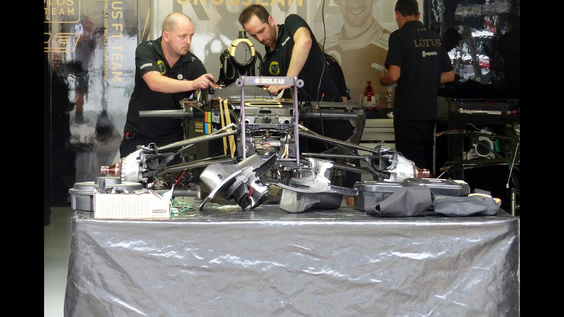 Lotus - Formel 1 - GP Brasilien- 12. November 2015