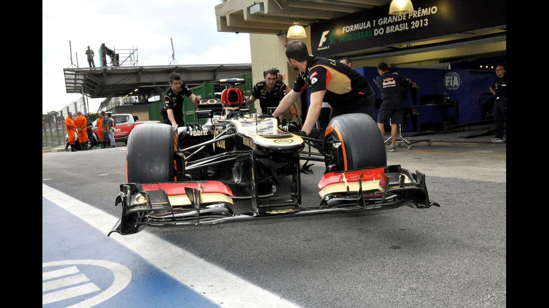 Lotus - Formel 1 - GP Brasilien - 21. November 2013