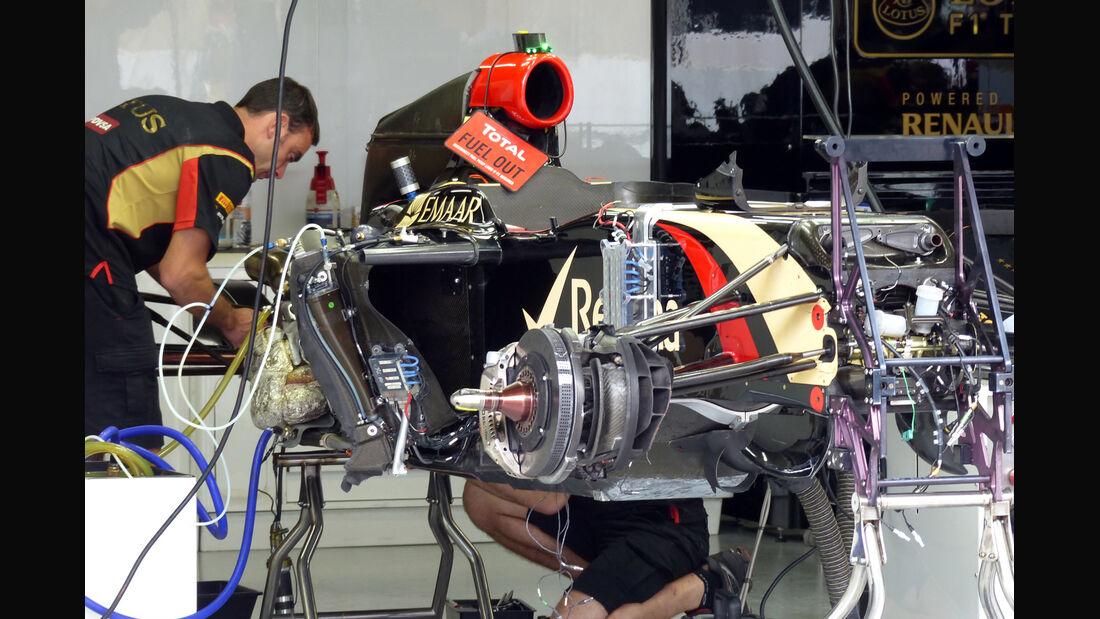 Lotus  - Formel 1 - GP Brasilien - 6. November 2014