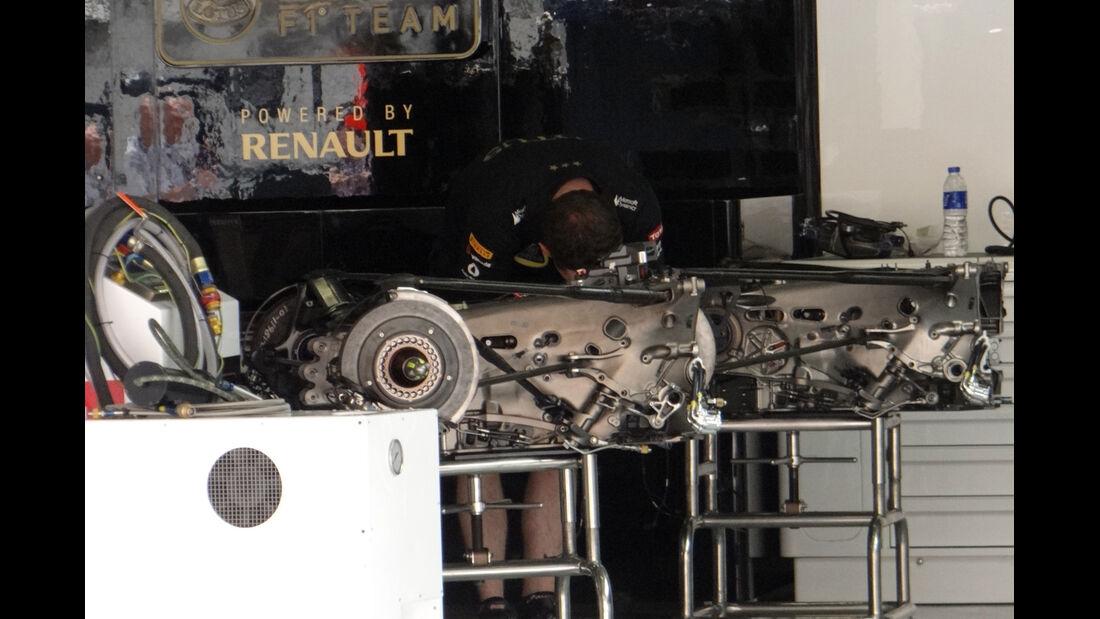 Lotus - Formel 1 - GP China - 11. April 2013