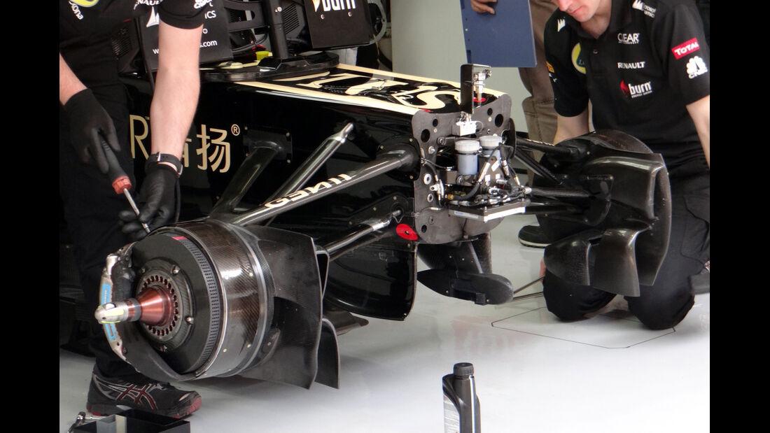 Lotus - Formel 1 - GP China - 12. April 2013