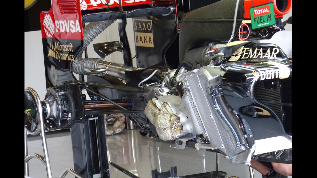 Lotus - Formel 1 - GP England  - Silverstone - 4. Juli 2014