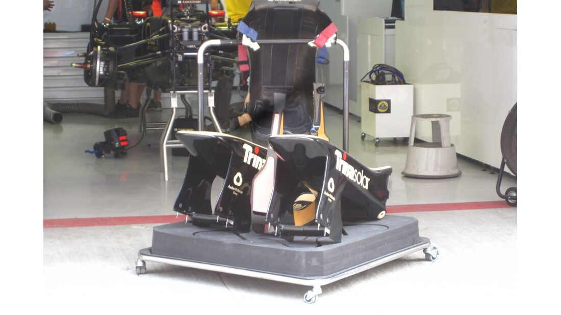 Lotus  - Formel 1 - GP Indien - 25. Oktober 2012