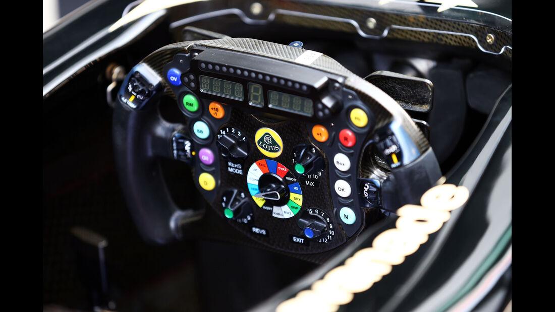 Lotus - Formel 1 - GP Indien - Delhi - 24. Oktober 2013