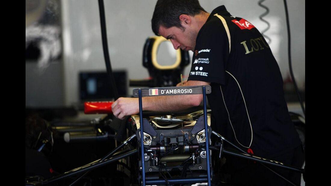 Lotus - Formel 1 - GP Italien - 6. September 2012