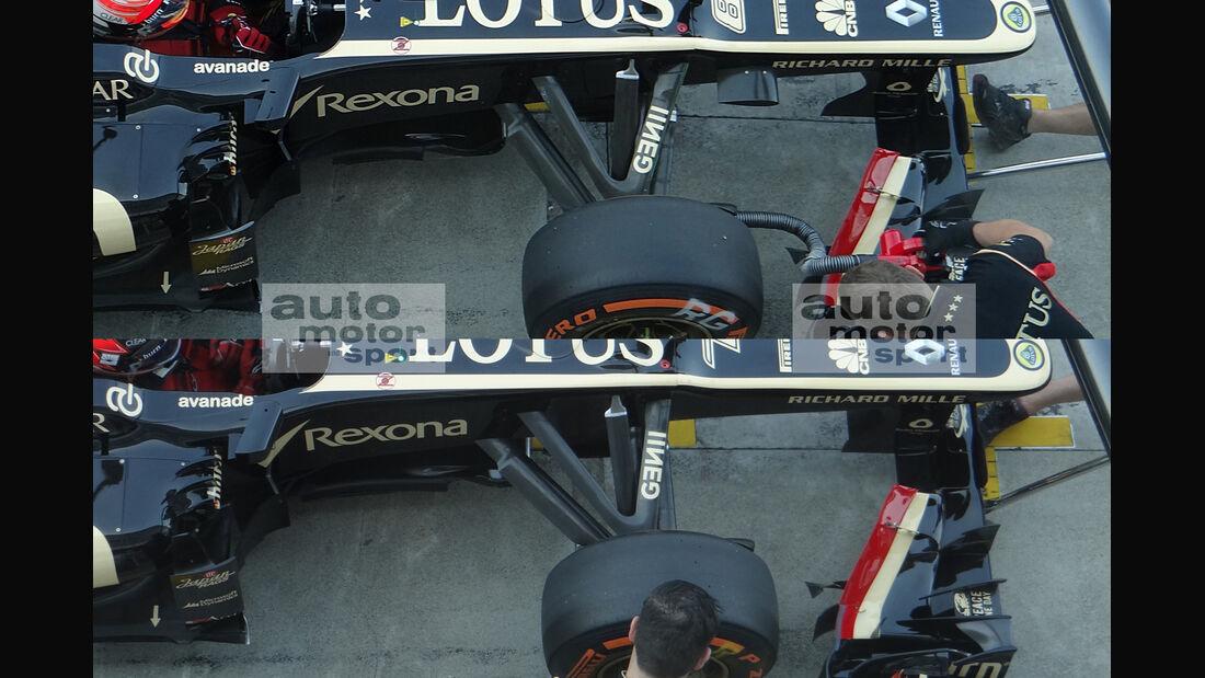 Lotus - Formel 1 - GP Italien - Monza - 6. September 2013