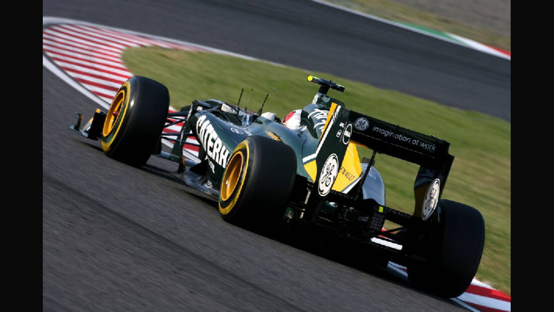 Lotus  - Formel 1 - GP Japan - 07. Oktober 2011
