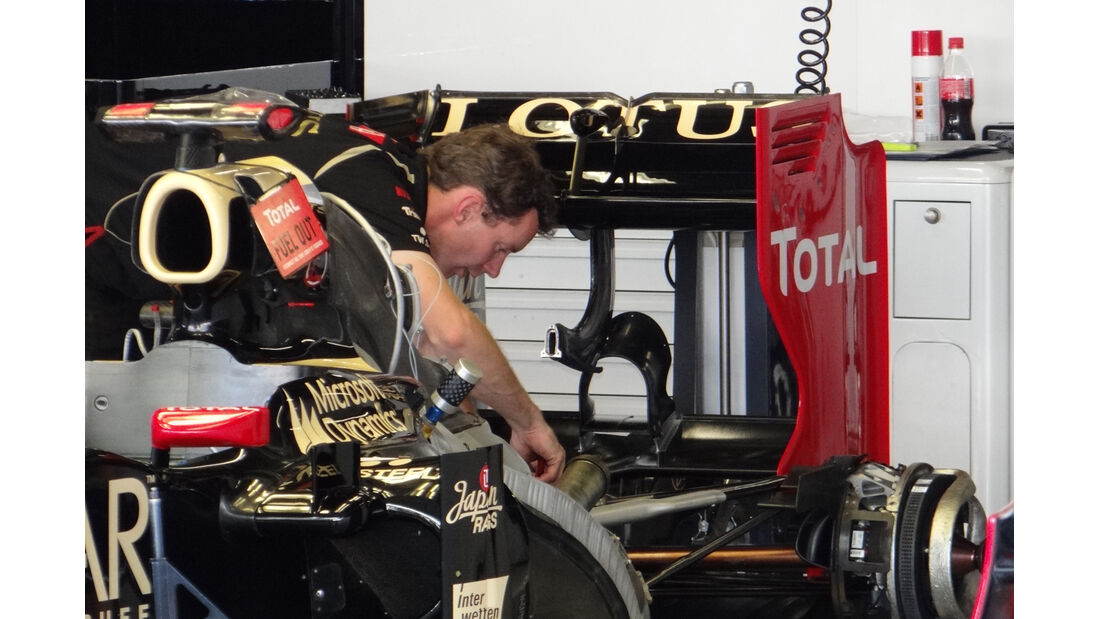Lotus - Formel 1 - GP Japan - Suzuka - 4. Oktober 2012