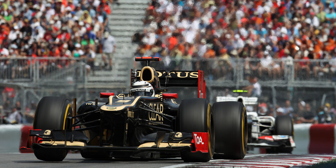 Lotus Formel 1 GP Kanada 2012