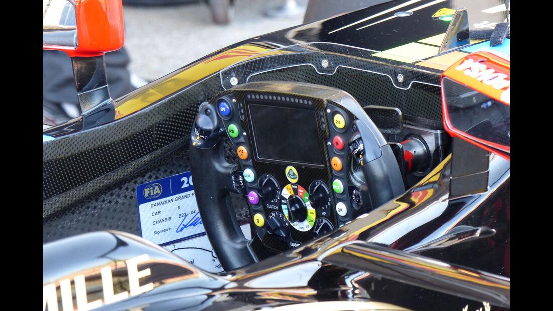 Lotus - Formel 1 - GP Kanada - Montreal - 6. Juni 2015