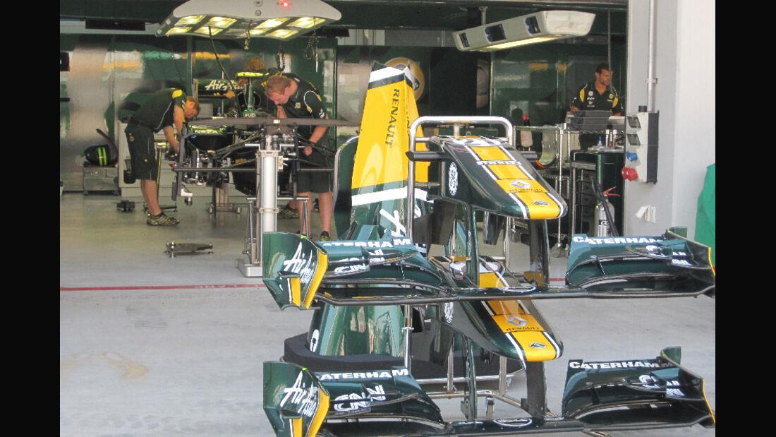 Lotus - Formel 1 - GP Korea - 13. Oktober 2011