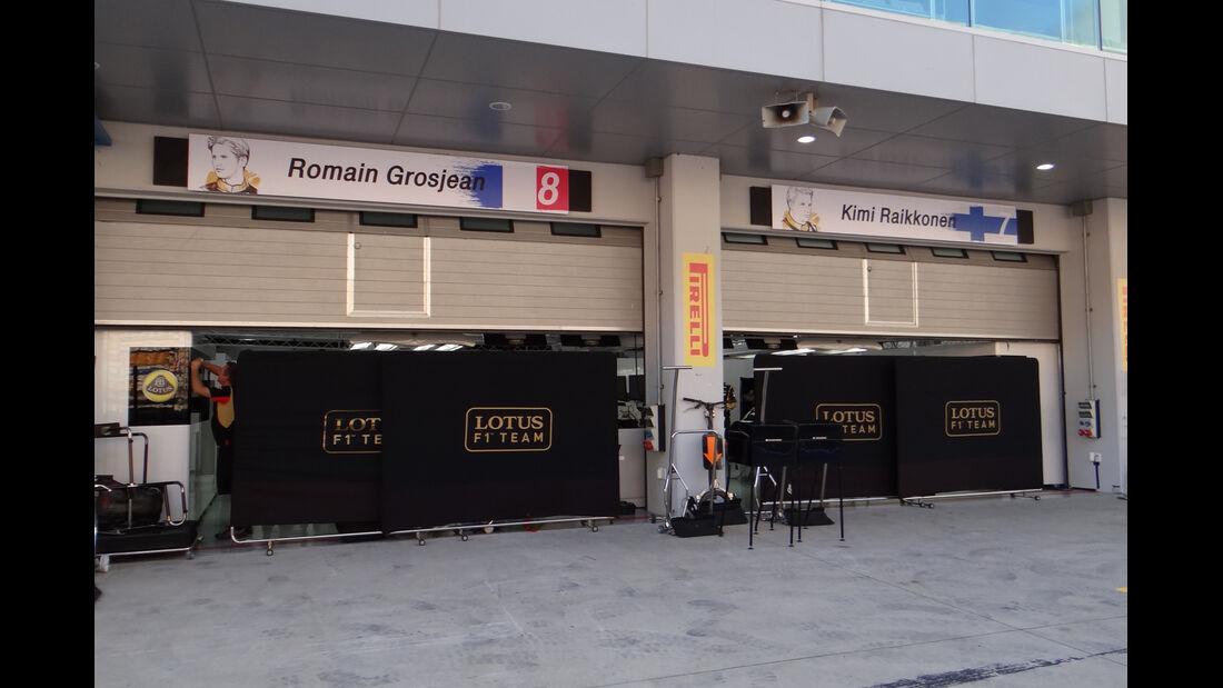 Lotus - Formel 1 - GP Korea - 2. Oktober 2013