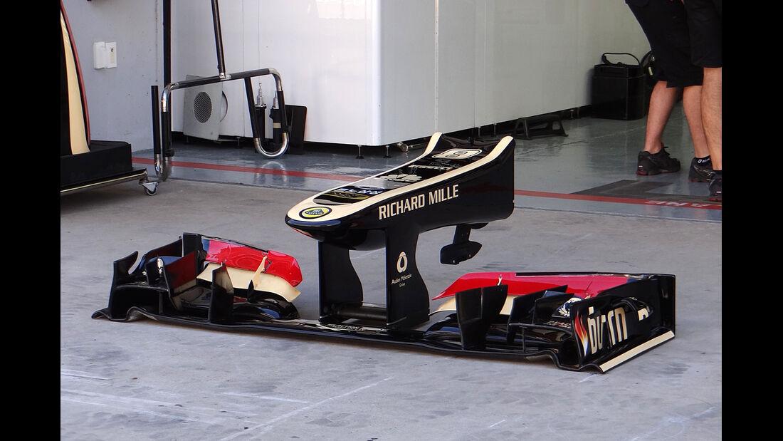 Lotus - Formel 1 - GP Korea - 4. Oktober 2013