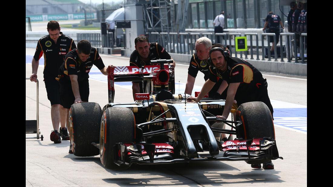 Lotus - Formel 1 - GP Malaysia - Sepang - 28. März 2014
