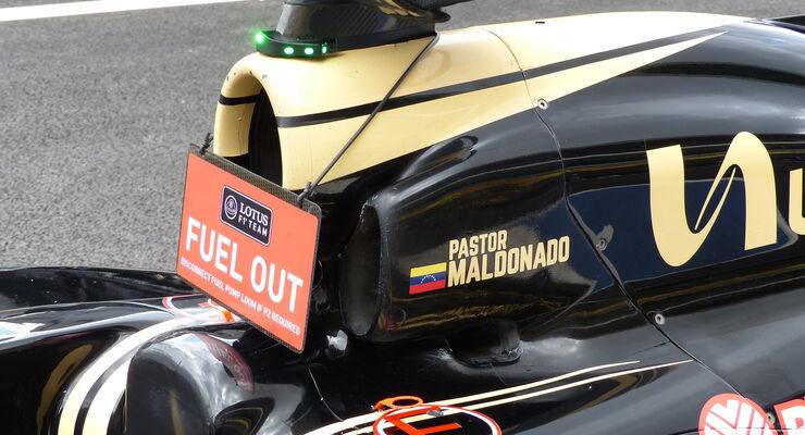 Lotus - Formel 1 - GP Mexico - 29. Oktober 2015