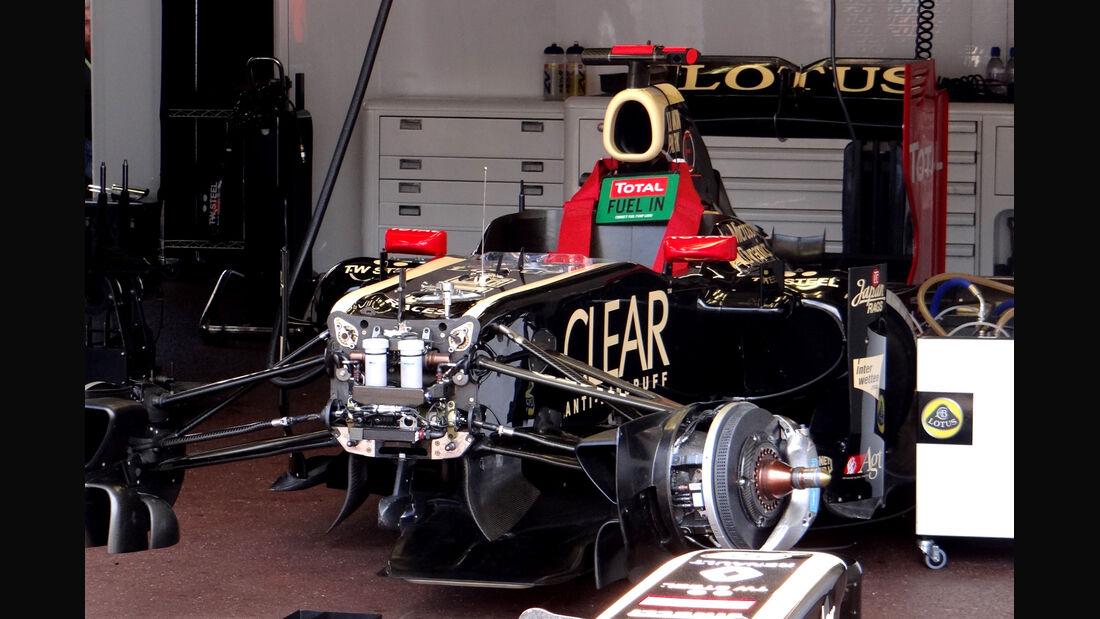 Lotus - Formel 1 - GP Monaco - 24. Mai 2012