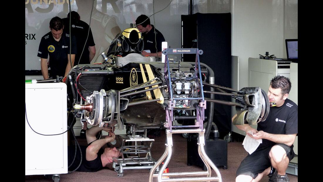 Lotus  - Formel 1 - GP Monaco - Mittwoch - 20. Mai 2015