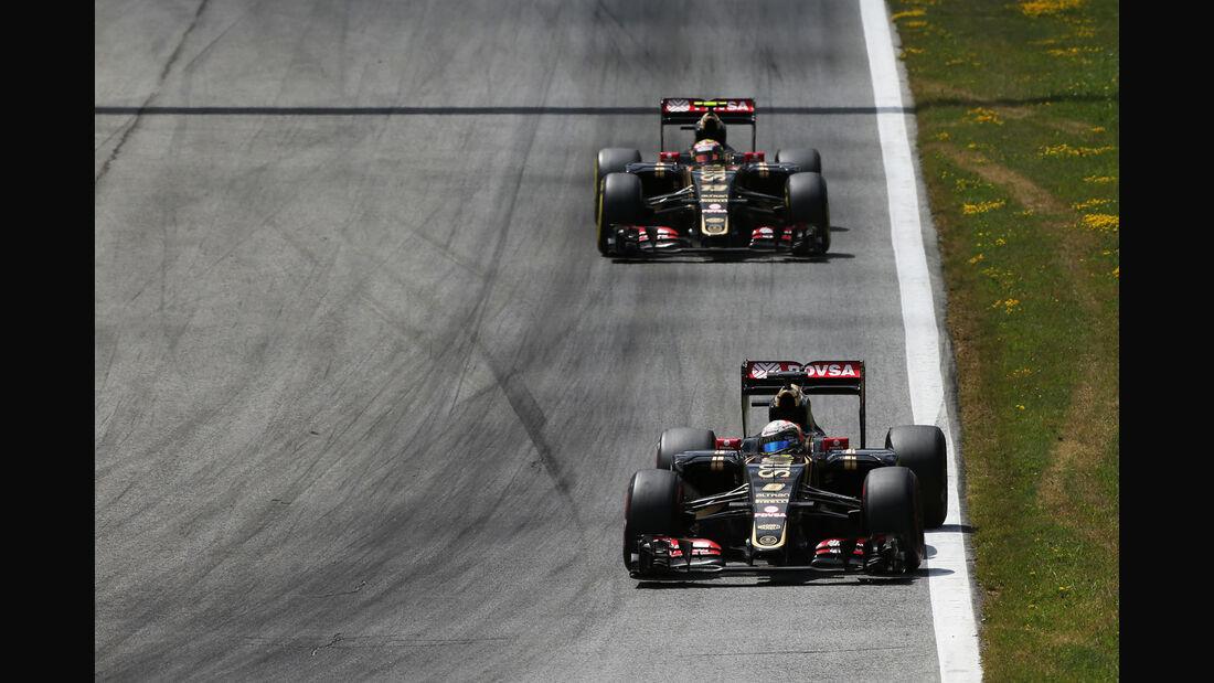 Lotus - Formel 1 -  GP Österreich 2015