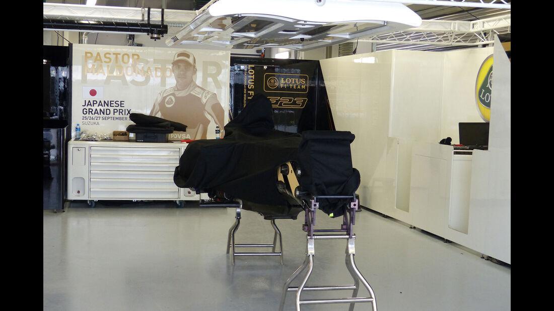 Lotus - Formel 1 - GP Russland - Sochi - Mittwoch - 7.10.2015