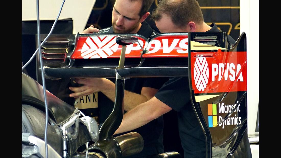 Lotus - Formel 1 - GP Singapur - 17. September 2015