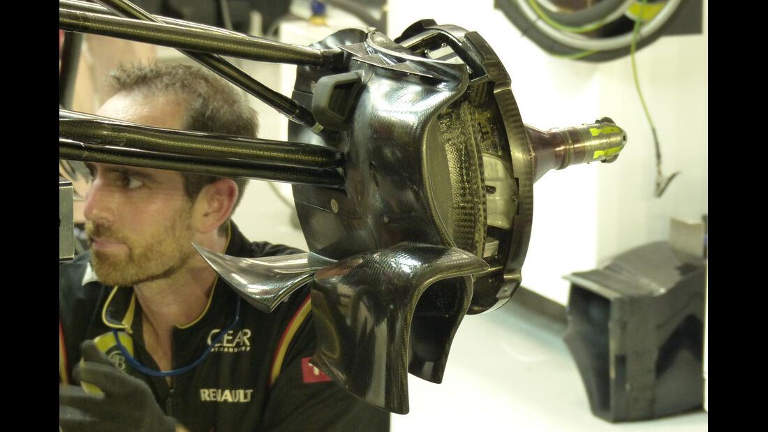 Lotus - Formel 1 - GP Singapur - 19. September 2014