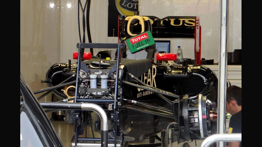 Lotus - Formel 1 - GP Singapur - 20. September 2012