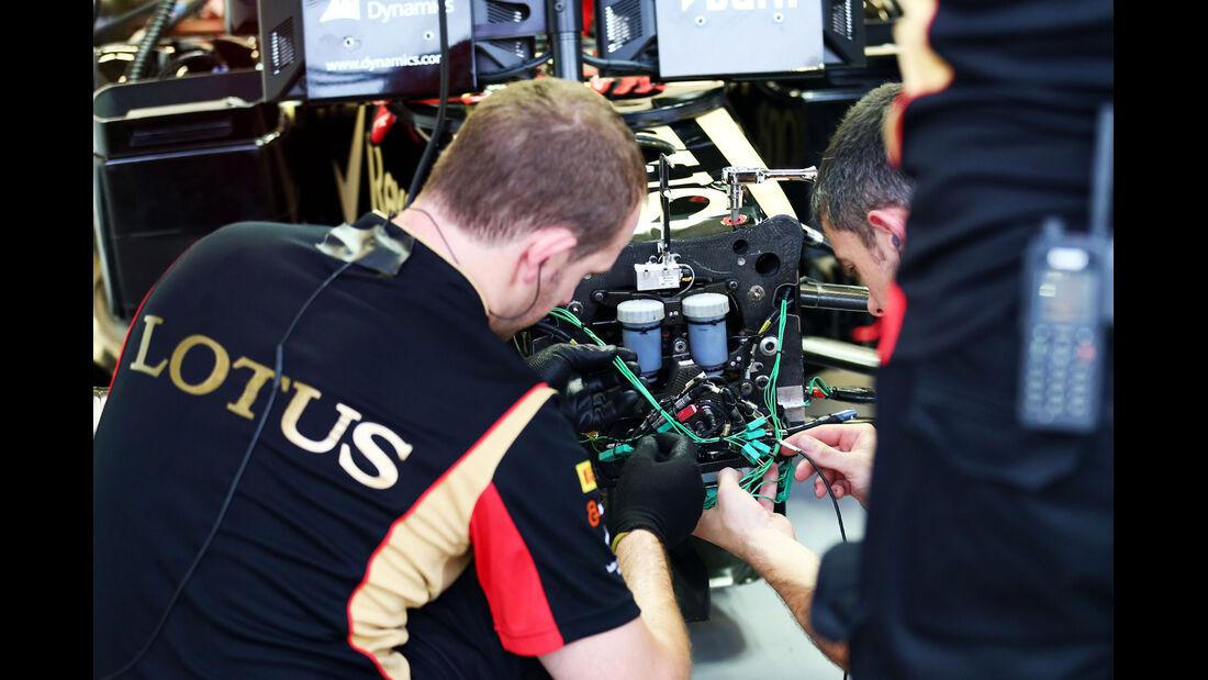 Lotus - Formel 1 - GP Singapur - 20. September 2013