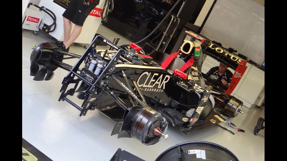 Lotus - Formel 1 - GP Singapur - 21. September 2012