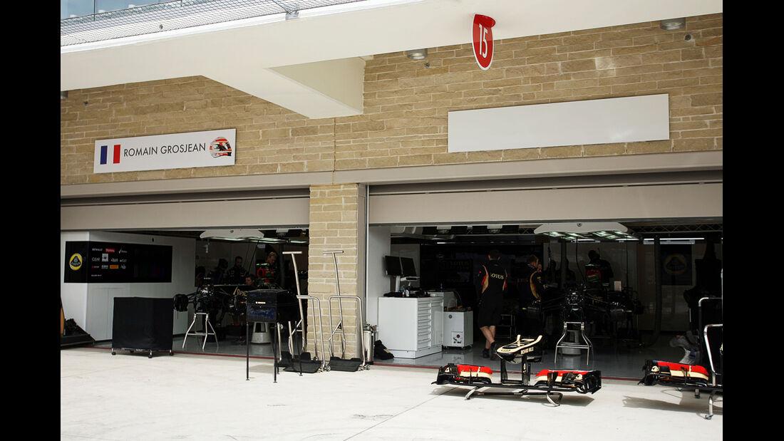 Lotus - Formel 1 - GP USA - 14. November 2013