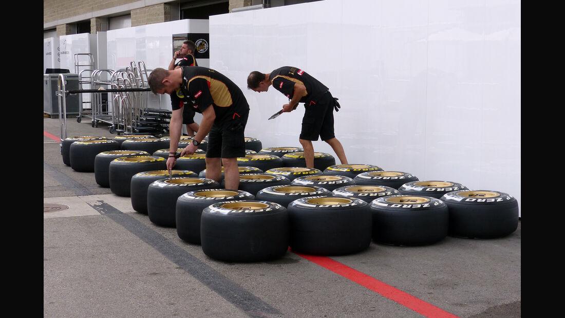 Lotus - Formel 1 - GP USA - 29. Oktober 2014