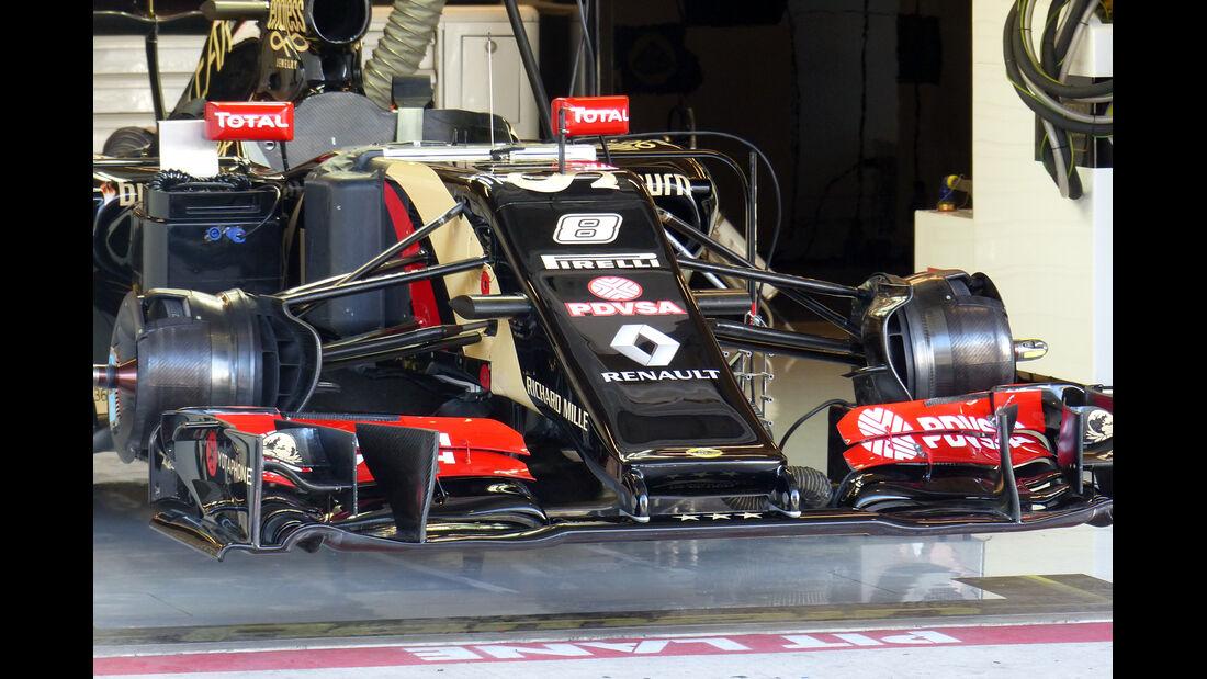 Lotus - Formel 1 - GP USA - 31. Oktober 2014