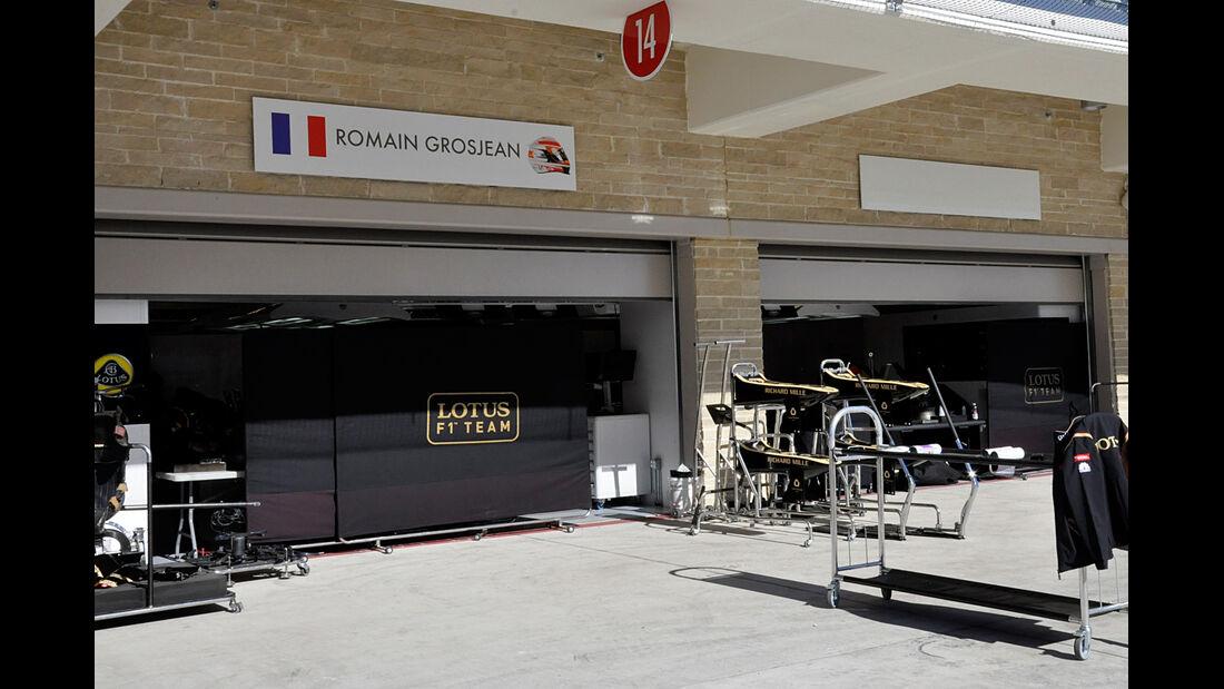 Lotus - Formel 1 - GP USA - Austin - 13. November 2013