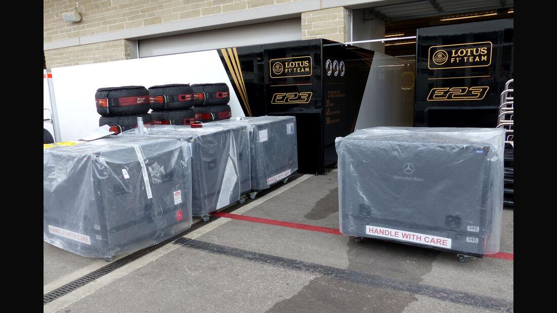 Lotus - Formel 1 - GP USA - Austin - 21. Oktober 2015