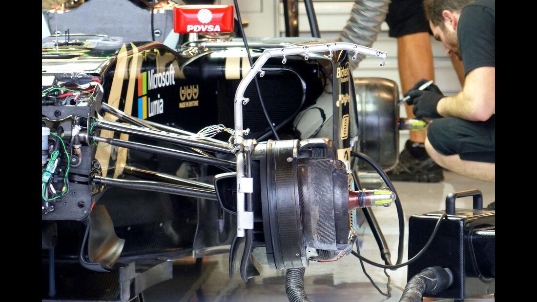 Lotus - Formel 1 - GP USA - Austin - 23. Oktober 2015