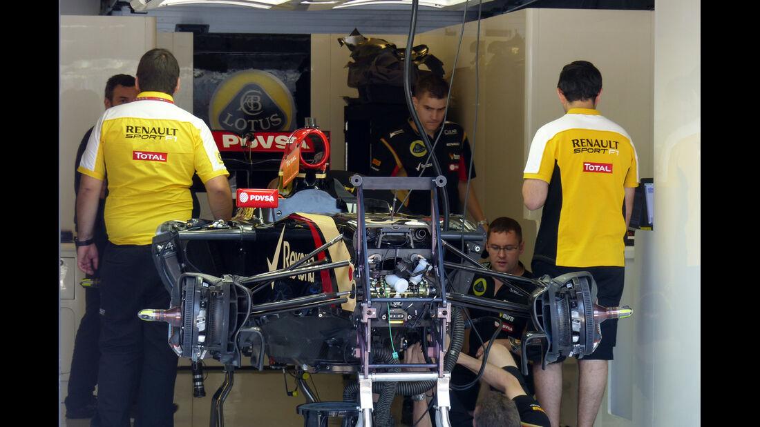 Lotus - Formel 1 - GP Ungarn - 24. Juli 2014