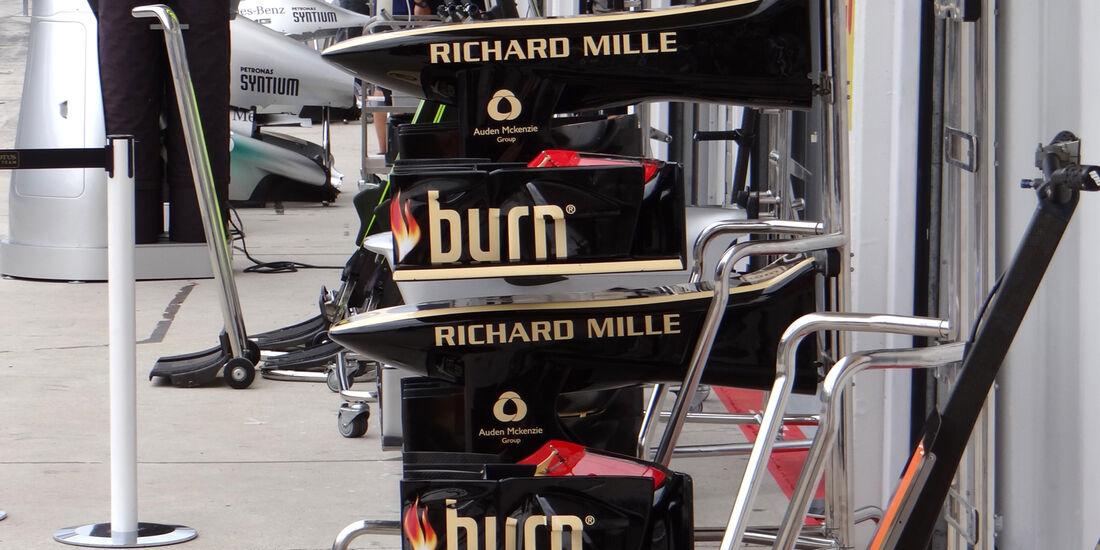 Lotus - Formel 1 - GP Ungarn - 25. Juli 2013