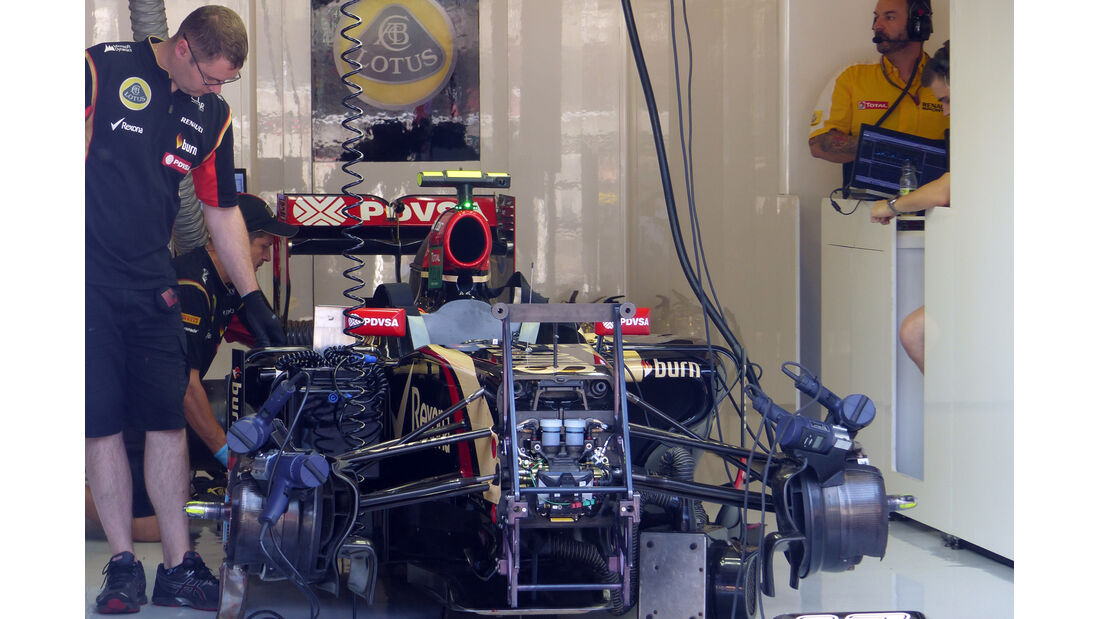 Lotus - Formel 1 - GP Ungarn - 25. Juli 2014