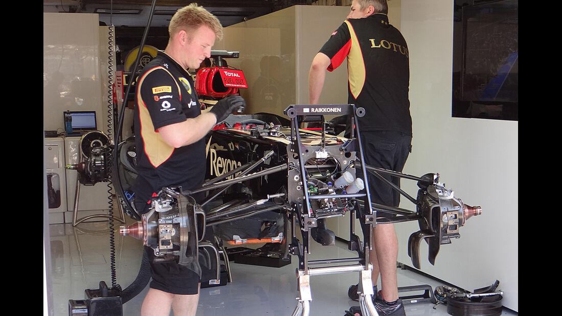 Lotus - Formel 1 - GP Ungarn - 26. Juli 2013