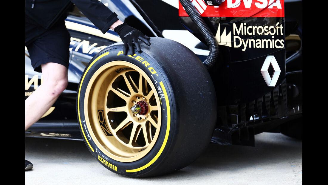 Lotus - Formel 1 - Silverstone-Test - 9. Juli 2014