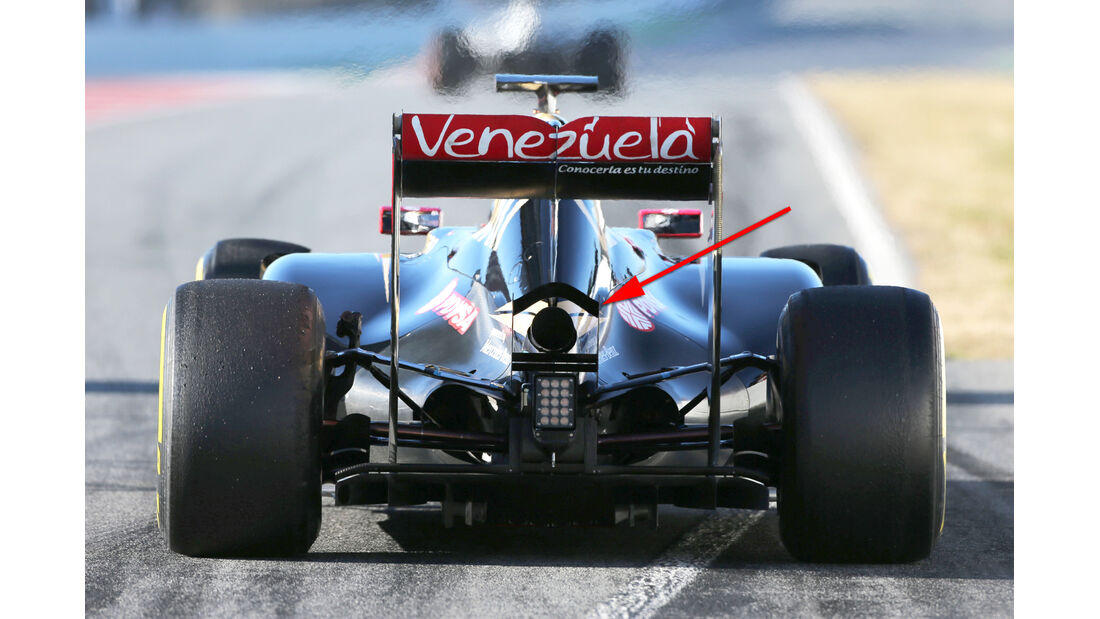 Lotus - Formel 1-Technik - Barcelona-Test 2 - F1 2015