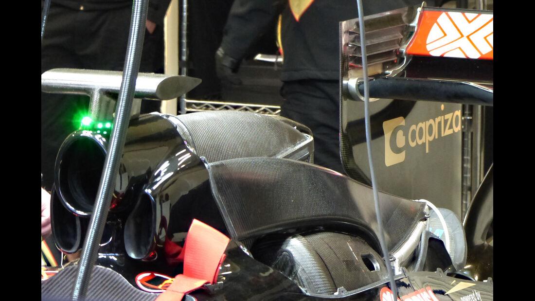 Lotus - Formel 1-Technik - F1-Test - Jerez - 2015