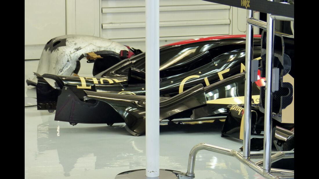 Lotus - Formel 1 - Test - Bahrain - 1. März 2014