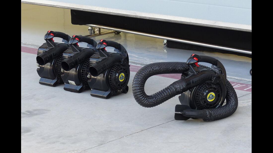 Lotus - Formel 1 - Test - Bahrain - 19. Februar 2014