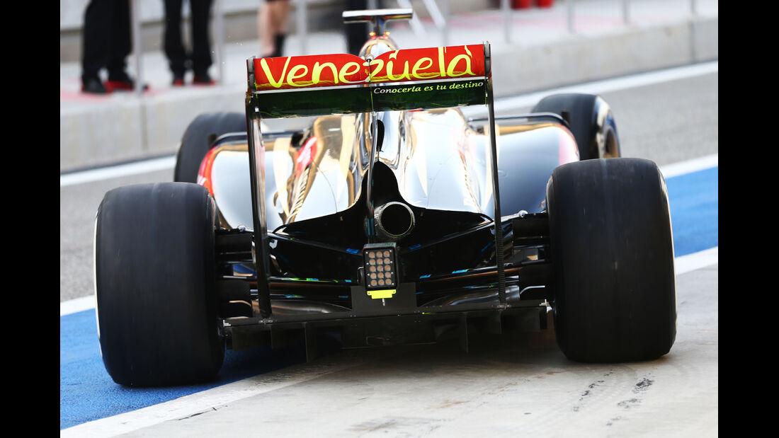 Lotus - Formel 1 Test - Bahrain - 2014