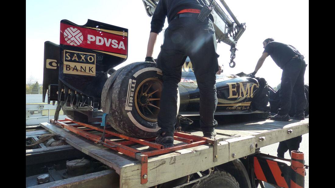 Lotus - Formel 1-Test - Barcelona - 1. März 2015