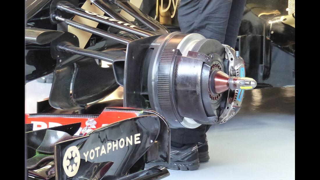 Lotus - Formel 1-Test - Barcelona - 19. Februar 2015
