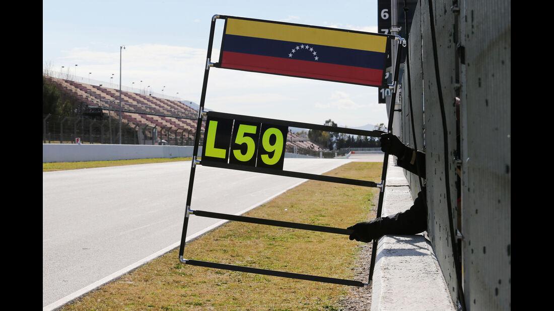 Lotus - Formel 1-Test - Barcelona - 27. Februar 2015