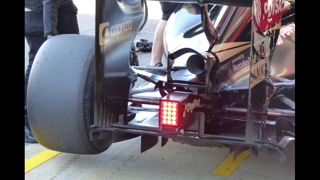 Lotus - Formel 1-Test - Barcelona - 28. Februar 2015