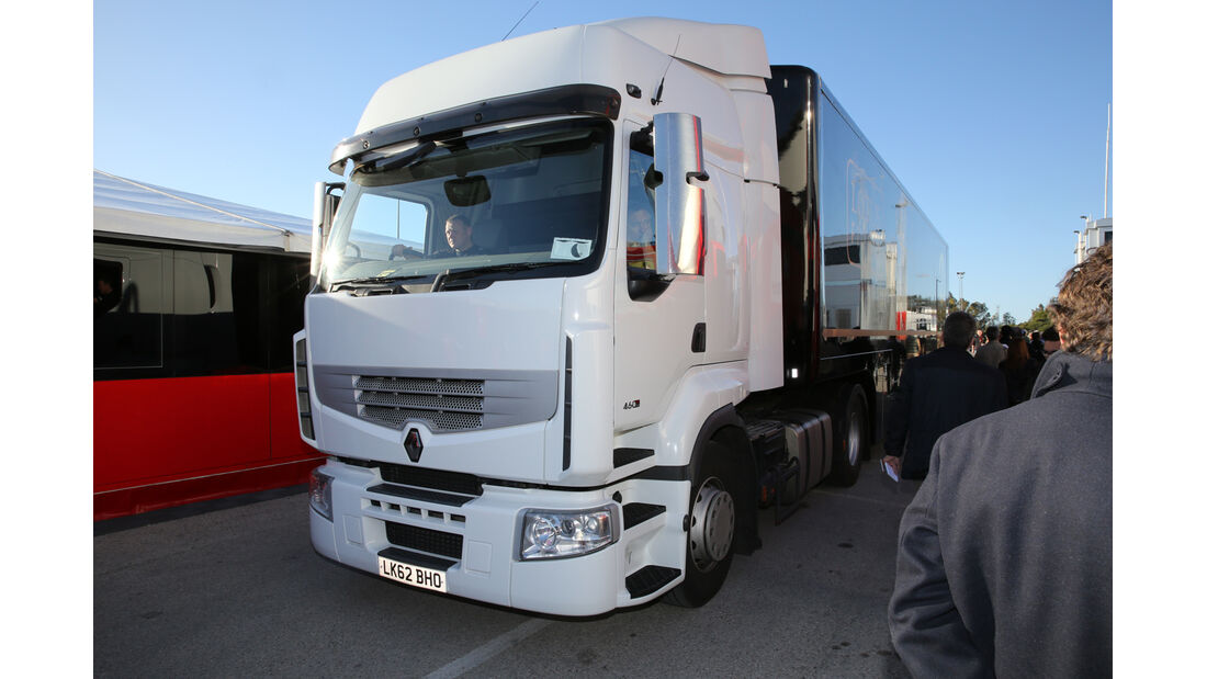 Lotus - Formel 1-Test Jerez - 1. Februar 2015