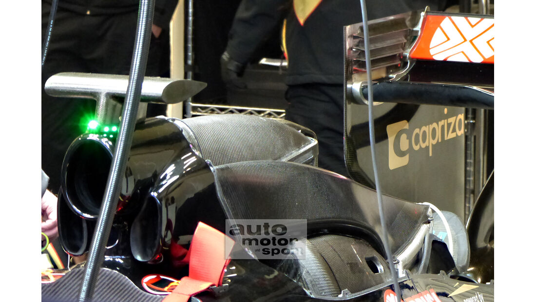 Lotus - Formel 1-Test - Jerez - 3. Februar 2015